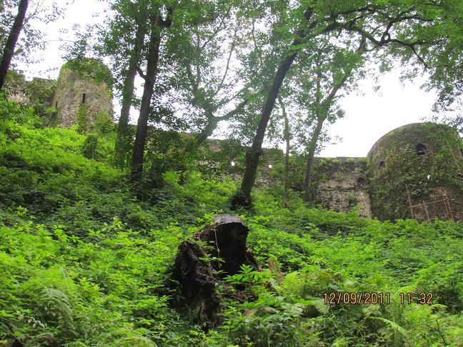 قلعه رودخان- نمای بیرونی قلعه